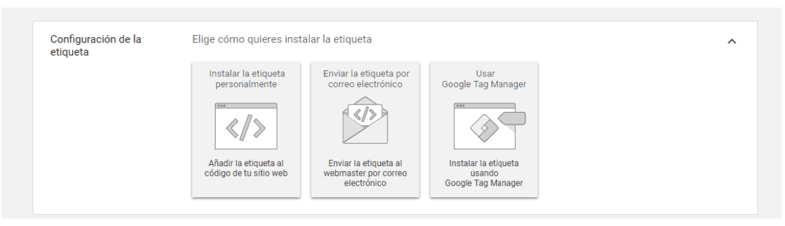 Seguimiento de Conversiones - Usar Google Tag Manager