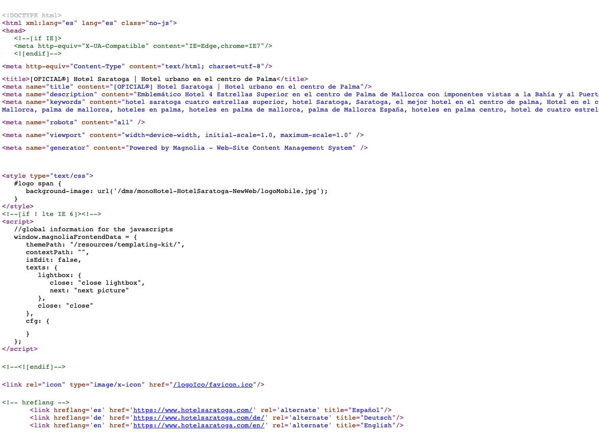 datalayer - código web